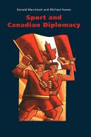 Sport and Canadian Diplomacy PDF