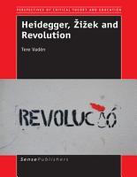 Heidegger    i  ek and Revolution PDF