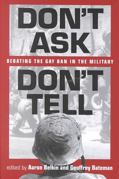 Don t Ask  Don t Tell PDF