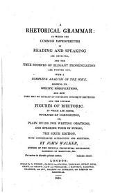 A rhetorical grammar ... First American edition
