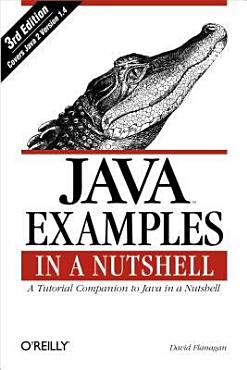 Java Examples in a Nutshell PDF