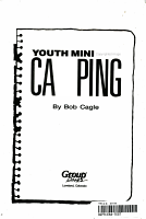 Youth Ministry Camping PDF