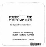 Pussycat Ate the Dumplings PDF