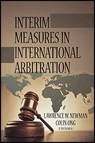 Interim Measures in International Arbitration PDF