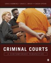 Criminal Courts: A Contemporary Perspective, Edition 3