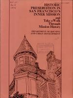 Historic Preservation in San Francisco's Inner Mission