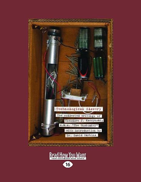 Download Technological Slavery  Large Print 16pt  Book