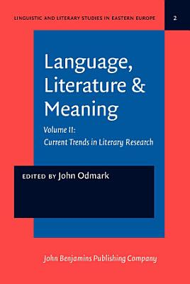 Language  Literature   Meaning PDF