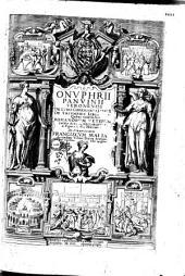Onuphrii Panvinii de ludis circensibus libri II...