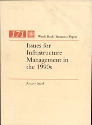 Issues for Infrastructure Management in the 1990s PDF