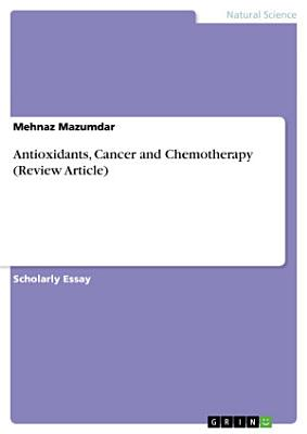 Antioxidants  Cancer and Chemotherapy  Review Article