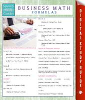 Business Math Formulas (Speedy Study Guides)