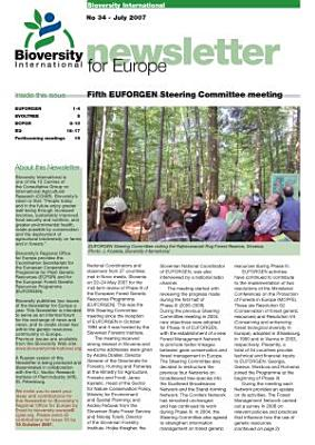 Bioversity International  Newsletter for Europe PDF
