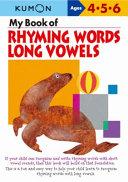 My Book of Rhyming Words Long Vowels