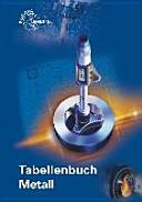 Tabellenbuch Metall  mit Formelsammlung  PDF