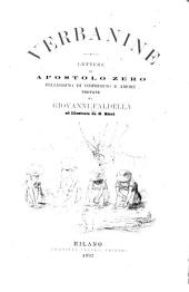 Verbanine: lettere di Apostolo Zero, pellegrino di commercio e amore