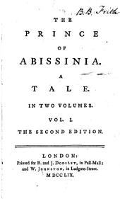 The Prince of Abissinia: A Tale. In Two Volumes, Volume 1