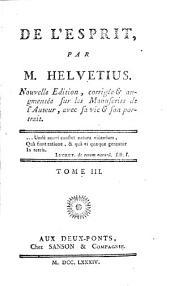 Œuvres complètes de M. Helvétius