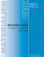 Restorative Justice PDF