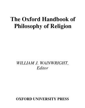 The Oxford Handbook of Philosophy of Religion PDF