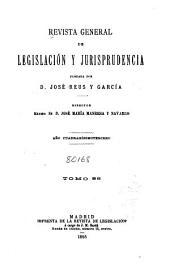 Revista general de legislación y jurisprudencia: Volumen 86