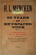 Download Thirty five Years of Newspaper Work Book