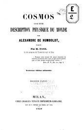 Cosmos: essais d'une description physique du monde, Volume 1