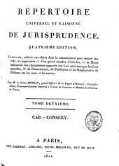 Répertoire universel et raisonné de jurisprudence: Mari.-V. Additions. T. 17