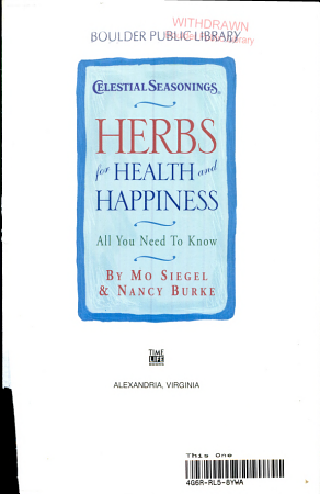 Herbs for Health and Happiness PDF