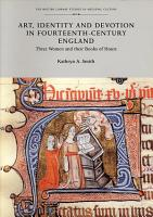 Art  Identity and Devotion in Fourteenth century England PDF