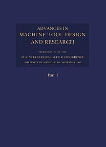 Advances in Machine Tool Design and Research 1967 PDF