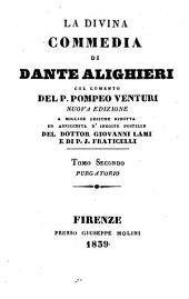 La Divina Commedia di Dante Alighieri: Purgatorio, Volume 2