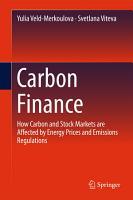 Carbon Finance PDF