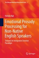 Emotional Prosody Processing for Non Native English Speakers PDF