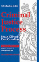 Introduction to the Criminal Justice Process PDF
