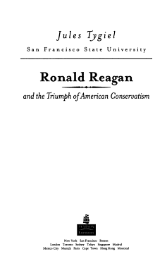 Ronald Reagan and the Triumph of American Conservatism PDF