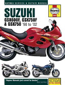 Suzuki GSX600, GSX750F & 98-02