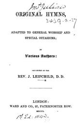 Original Hymns, etc