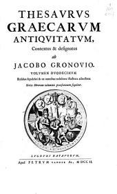 Thesaurus graecorum antiquitatum