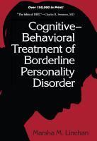 Cognitive Behavioral Treatment of Borderline Personality Disorder PDF