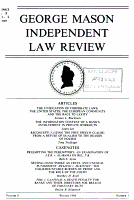George Mason independent law review PDF