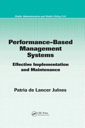 Performance-Based Management Systems: Effective Implementation and Maintenance