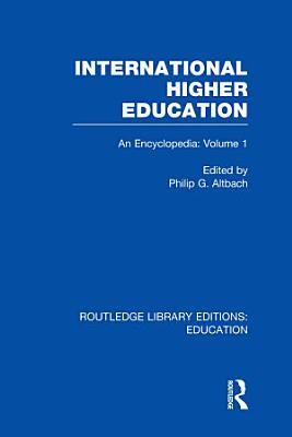 International Higher Education Volume 1 PDF