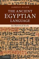 The Ancient Egyptian Language PDF