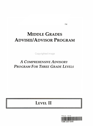 Advisory Level 2 Book  Teacher s Guide and Manual  Level I Core Books  Binder with Index Tabs