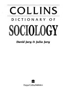 Collins Dictionary of Sociology PDF