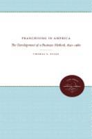 Franchising in America PDF