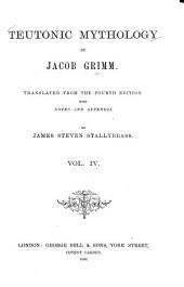 Teutonic Mythology: Volume 4