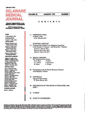 Delaware Medical Journal