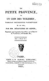 La petite Provence ou un coin des Tuileries